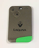 Корпус ключ-карта Renault Laguna 2 кнопки