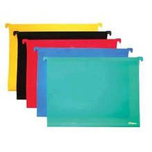 Папка Skiper конверт А4 підвісний пластиковий зелений (5) Sk-9824