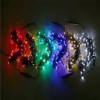 Светодиодная гирлянда Стринг Лайт LED-PLR-50-5M-240V(50 св, 7 цвет)