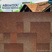 Битумная черепица Aquaizol Мозаика