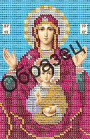 Схема для вышивки бисером «Пресвятая Богородица Знамение»