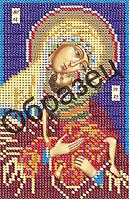 Схема для вышивки бисером «Пресвятая Богородица Взыграние младенца»