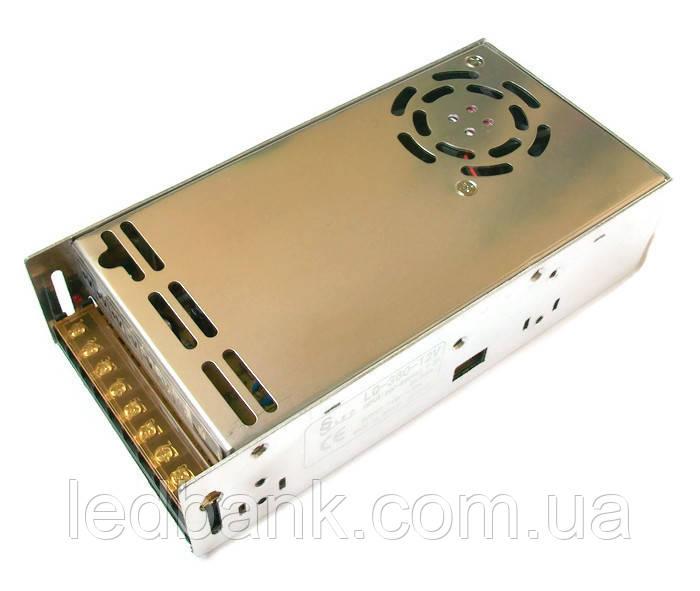 Блок живлення для світлодіодної стрічки 12В 360 Вт LQ-360-12