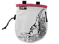 Мешочек для магнезии SINGING ROCK Chalk bag comic L pink