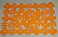Салфетка флизелин большая желтая\оранжевая\салатовая