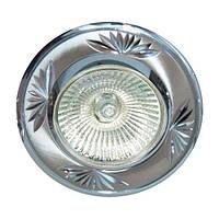 Встраиваемый светильник Feron 246DL титан хром