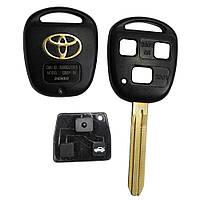 Корпус ключа Toyota Camry Corolla Avensis 3 кнопки