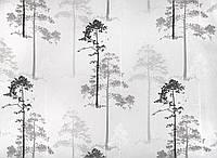 Тюль принт деревья, фото 1