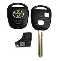 Корпус ключа Toyota Camry Corolla RAV4 Avensis 2 кнопки