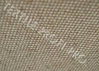 Льняная мебельная ткань бежевого цвета (шир. 150см)