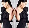 Блуза на одно плечо с воланом, фото 3