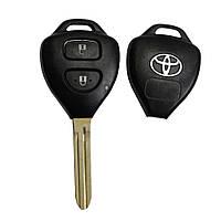 Корпус ключа Toyota Camry Corolla RAV4 Prado Auris Avensis 2 кнопки