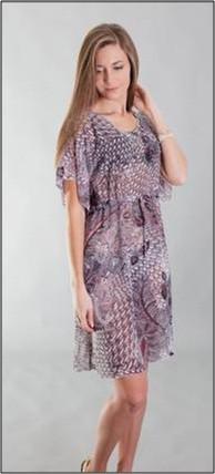 Пляжное платье туника Calipso Katrina парео