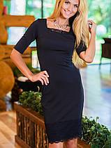 Женственное платье | RICCI с кружевом sk, фото 3