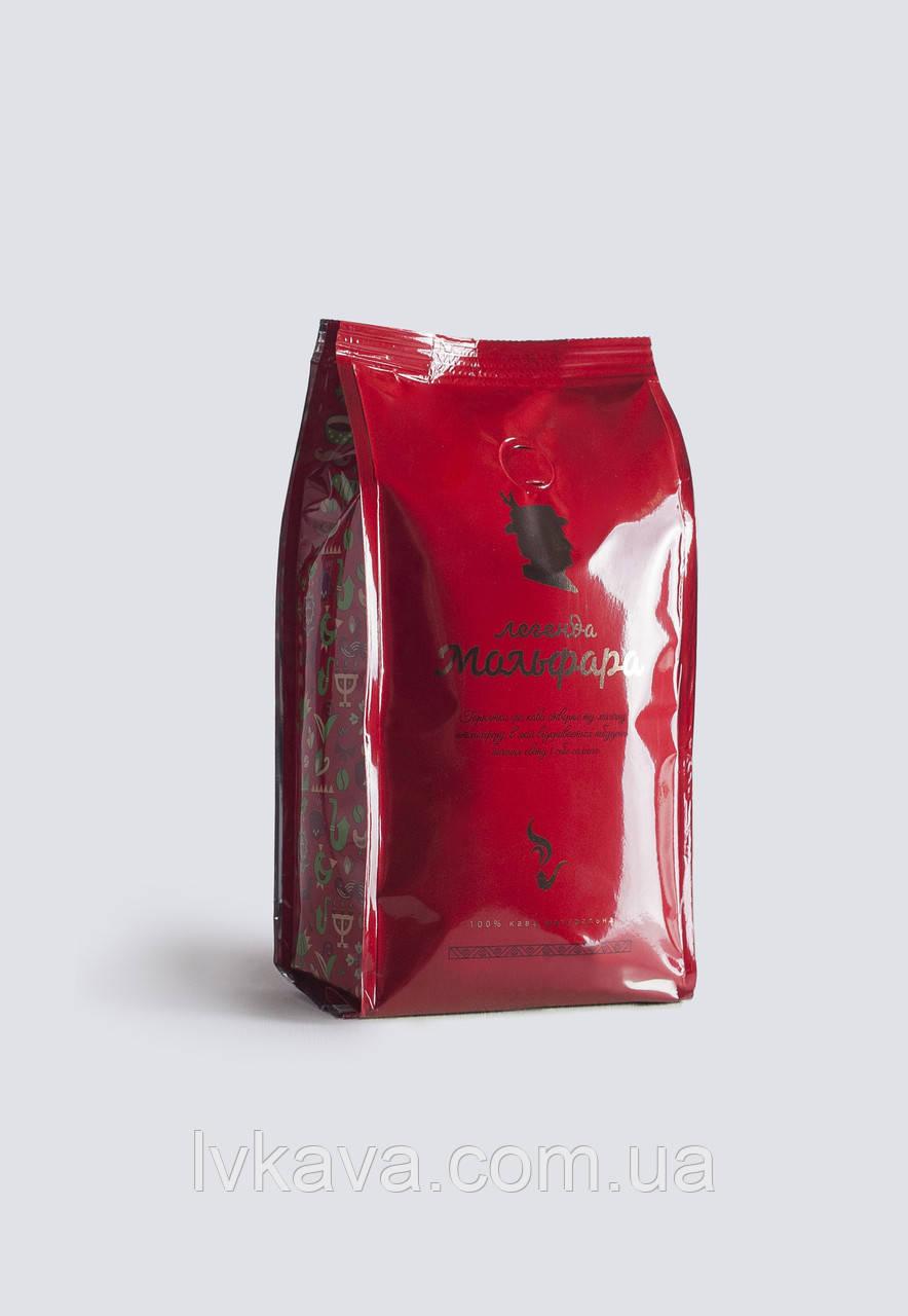 Кофе в зернах Легенда Мольфара, красный,250г