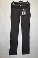 Модные брюки Amnesia коричневые Турция