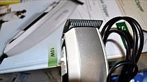 Машинка для стрижки собак и кошек Surker HC-585 10Вт 6 насадок, фото 2