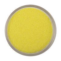 Желтый песок, цветной песок №3, вес 500 грамм