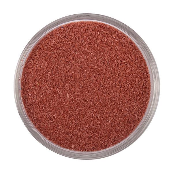 Терракотовый песок, цветной песок №9, вес 500 грамм