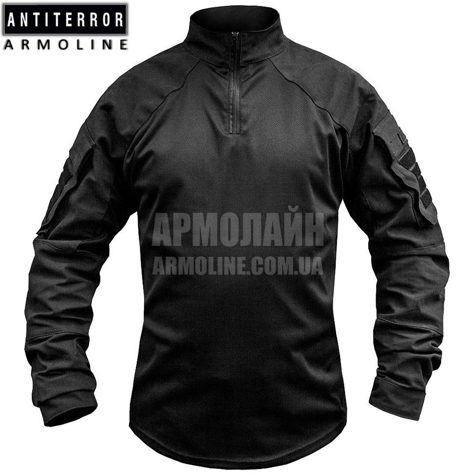 Рубашка UBACS тактическая (ANTITERROR) Black