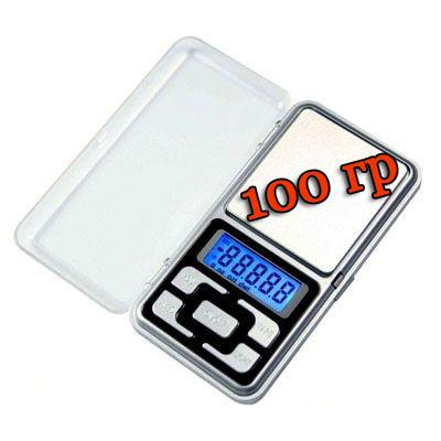 Весы ювелирные карманные 100 грамм - электронные