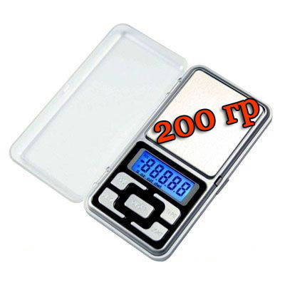 Весы ювелирные карманные 200 грамм - электронные, фото 2
