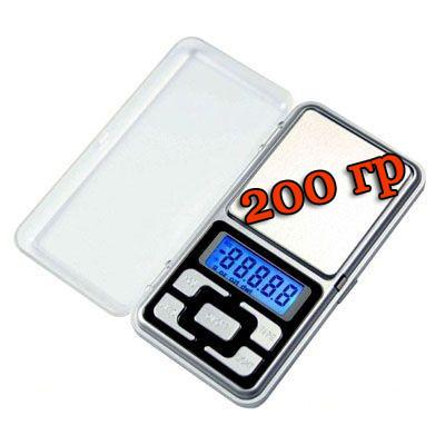 Весы ювелирные карманные 200 грамм - электронные