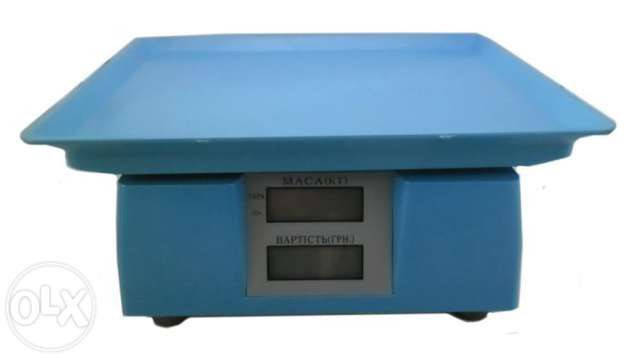 Весы торговые ACS электронные до 40 кг, фото 2