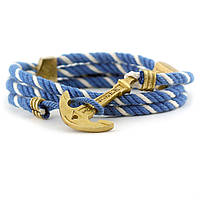Браслет якорь Maritime Navy Blue/White, фото 1