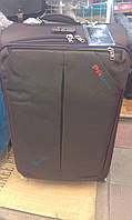 Набор чемоданов коричневый на 4 колесах 3 шт THREE BIRDS 8039 (28х24х20)