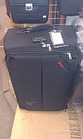 Набор чемоданов черный на 4 колесах 3 шт THREE BIRDS 8039 (28х24х20), фото 1