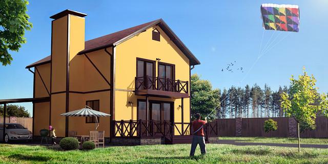 Канадский дом под ключ - ЧП Колесников в Кировоградской области