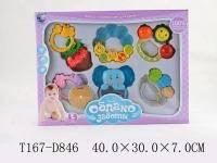 Набор уникальных погремушек для малышей, 6 шт