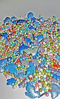 Посыпка сахарная перламутровая голуби микс