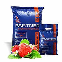 Хелатный комплекс для ягодных кустарников и клубники PARTNER NPK 13:7:17 + S + ME 25 кг