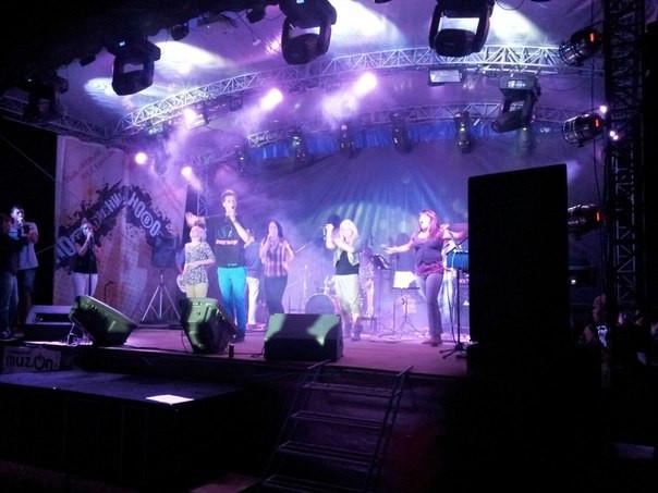 """Молодёжный фестиваль """"Наводнение"""" Геническ 2012, 2013г."""
