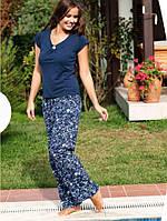 Хлопковая женская пижама с штанами