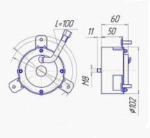 ДЭВ 12, ДЭВ 24, двигатель постоянного тока
