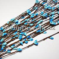 Ветка с почками, цвет голубой, 1шт