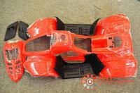 Пластик основной квадроцикл 110 cc Phoenix с подфарником и боковыми заглушками комп