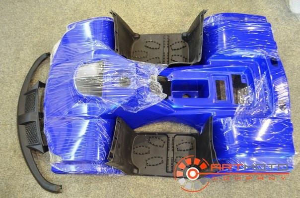 Пластик основной квадроцикл 125 cc BMW с пластиком под фарами