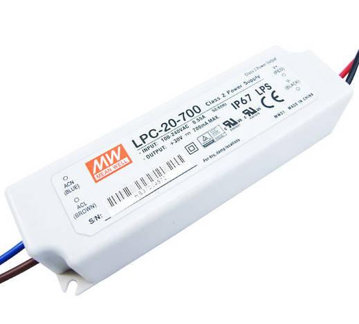 Герметичный импульсный драйвер LPC-20-700; 700mA