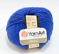 Пряжа jeans - цвет синий