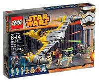 Конструктор Lego Звездный истребитель Набу (75092)