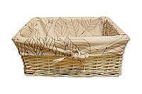 Плетеная корзинка Листья