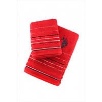 Набор полотенец U.S. Polo Assn - Tempe красный (50*90+70*140)