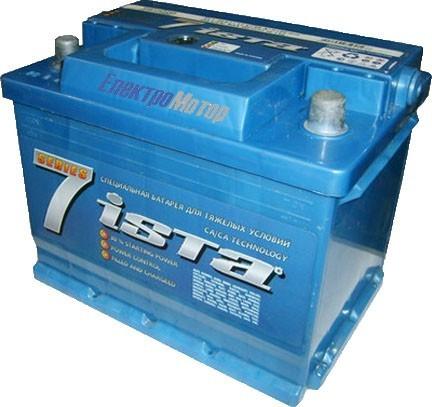 Аккумулятор ISTA 7 Series 6СТ-50 Евро