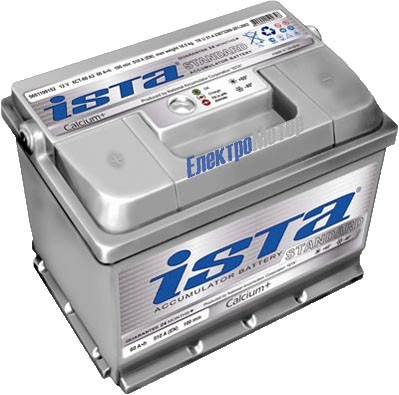 Аккумулятор ISTA Standard 6СТ-75 Евро