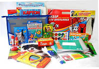 Школьный набор, набор первоклассника Премиум для мальчика 68 предметов
