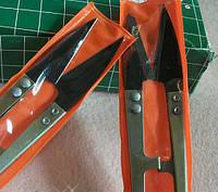 Ножницы для обрезки нитей (золото с черным острием)